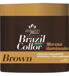 Matizador Brown Amazon Flowers (morena iluminada) 500g
